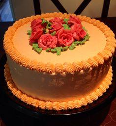 Orange Chiffon Cake with Cream Cheese Frosting