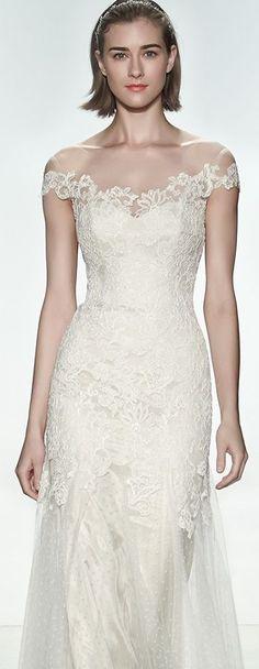 Wedding dress idea; Featured: Christos