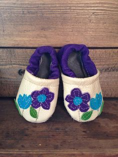 We love these darling little slippers from Starry Knight Designs!
