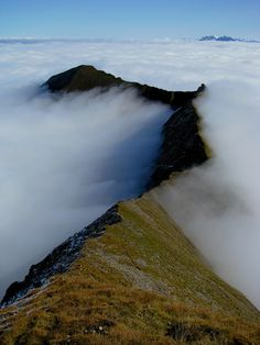 Low level clouds are called fog. from emiko kotera