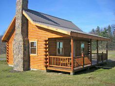 Union Hill Log Cabin, 800 Square Feet, Affordable And Roomy