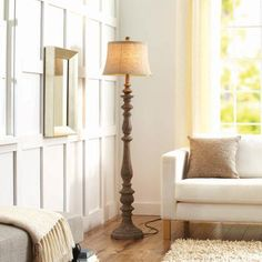 actual* Floor Lamp $69!! Threshold™ Double Socket Floor Lamp ...