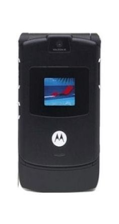 Motorola RAZR V3 BLACK Sim Free UNLOCKED Mobile Phone Boxed with Accessories