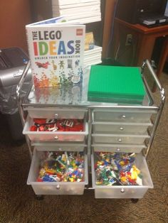 The Pop-Up/Mobile Makerspace for teens: legos and duct tape centers on the go