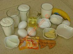 Alman Pastası İçin Gerekli Malzemeler Dessert Recipes, Desserts, Eggs, Breakfast, Food, Tailgate Desserts, Morning Coffee, Deserts, Essen