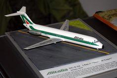 scale Alitalia Cosford Model Show Airfix Models, Model Show, Model Trains, Plastic Models, Scale Models, Diecast, Aircraft, Airplane, Nikon