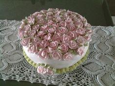 Rosas de Glacê Real para Neuza