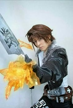 #squall #leonhart from #finalfantasyviii cosplay. #cosplay by #kanon