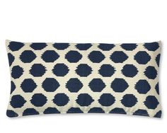 Williams Sonoma Ikat pillow cover
