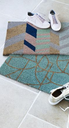 Create a welcoming hearth with the Haruko Doormat.
