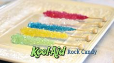7 Fantastic (and Simple) Rock Candy Recipes