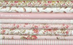 8 Fat Quarter Bundle  Rachel Ashwell... by PomegranatePlace, $23.75