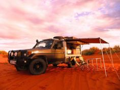 Toyota Land Cruiser HZJ75/Troopy Expedition Overland ready.