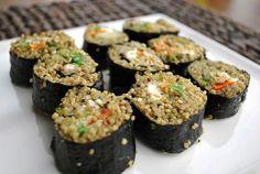 Quinoa Seaweed Rolls!
