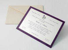 Invito nozze classico CL653A