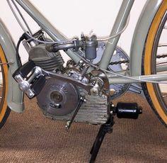 Ducati Cucciolo | MotoFotoStudio Bicycle Engine, Motorcycle Engine, Antique Motorcycles, Cool Motorcycles, Peugeot, Ducati Classic, Ducati Models, Motorised Bike, Motorized Bicycle