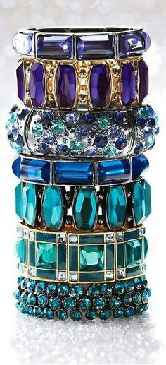 blue bangles...