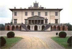 Giuliano da Sangallo. Villa Medici at Poggio a Caiano. Near Florence. c. 1485  #architecture
