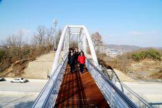 강남동 등산로 연결 교량 개통식(2013. 11. 30.)