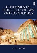 In this new textbook, Alan Devlin explains law-and-economics theory in an accessible and straightforward manner. The book explores the relationship between law, economics, and legal theory in an international context. Drawing on the neoclassical tradition of economic analysis of law, and showcasing cutting-edge behavioural economic theories of law, Fundamental Principles of Law and Economics comprehensively summarises the subject and demonstrates that this ...