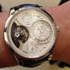 @Garrett Jaeger-LeCoultre Spherotourbillon #watch is still so great #watchporn #sihh #instawatches #ablogtowatch