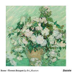 'Vincent van Gogh Roses 1890 Painting' iPad Case/Skin by podartist Van Gogh Prints, Rose Family, Buy Roses, Still Life Photography, Vincent Van Gogh, Folded Cards, Fine Art Gallery, Custom Art, Flower Art