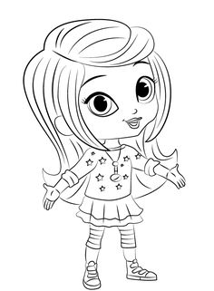 Shimmer And Shine Coloring Pages Of 2017 Birthdays Birthday Party Ideas
