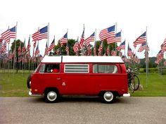 Volkswagen Westfalia Camper Van, 1970