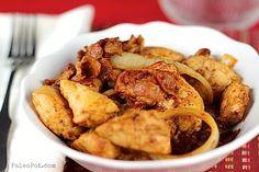 One-Pot Chipotle Bacon Chicken - PaleoPot - Easy Paleo Recipes - Crock Pot / Slow Cooker / One-Pot : PaleoPot – Easy Paleo Recipes – Crock Pot / Slow Cooker / One-Pot Paleo Recipes Easy, Primal Recipes, Low Carb Recipes, Real Food Recipes, Fish Recipes, Yummy Recipes, Yummy Food, Cooker Recipes, Crockpot Recipes