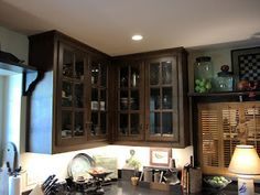 Handmade Kitchen Cabinets by Shaka Studios for a home in Houston, Texas
