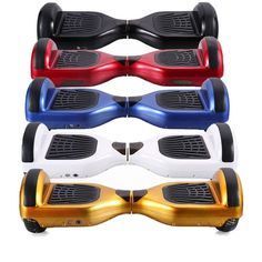 """5 PACK! Self Balancing Two Wheel Scooter Hoverboard with 6"""" Wheels (FREE SHIPPING)"""