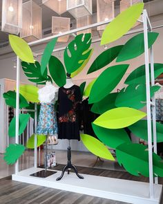 "IKONIC BOUTIQUE, Panama City, Panama, ""Tropical Vibes!"", creative by HD DM Visual, Panama, pinned by Ton van der Veer"