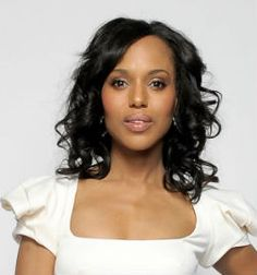 "Kerry Washington  Actress who addressed the 2012 Democratic National Convention and stars in hit ABC drama ""Scandal."""