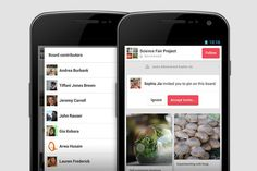 Oh, How Pinteresting!, Pinterest Android App: Version 1.3