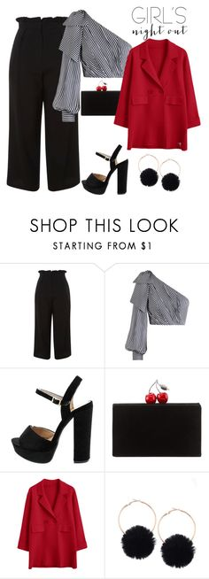 """Untitled #13"" by mariana-teixeira-iii ❤ liked on Polyvore featuring Topshop, Zimmermann, Edie Parker, StreetStyle, contest and fashionable"