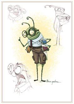 Character Design & Concepts for animated project