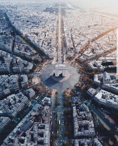 Arc de Triumphe, Paris, France