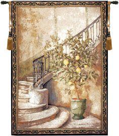 Lemon Stairwell Decorative Wall Hanging