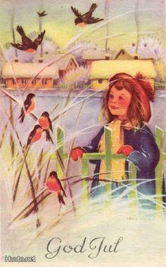 Irma Salmi Christmas Tale, Christmas Bird, Christmas Illustration, Old Ones, Yule, Finland, Illustrators, Scandinavian, Prints