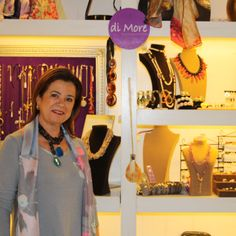 "Carmen Alonso, diseñadora de ""di More"" en POP UP Chic"