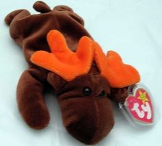 Ty Beanie Baby Chocolate - Moose MWMT New Condition with Tags #TyBeanieBabies