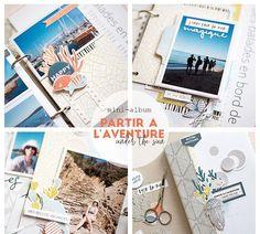 Mini Albums Scrapbook, Scrapbooking, Creations, Blog, Julie, Occasion, Instagram, Minis, Illustration
