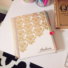 Andréa Matillano: NEW! Erin Condren 2014/2015 Life Planner Unboxing and Overview #eclifeplanner14