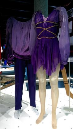 Torvill and Dean Bolero costumes in Lausanne Olympic Museum