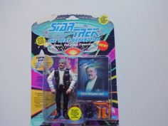 Vintage Captain Scott Action Figure 1993 NIB by WylieOwlVintage