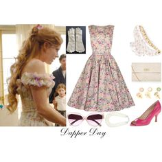 Classic dress silhouette, nix those peep-toes but the heel height is fantastic! Dapper Day Disneyland, Disney Dapper Day, Dapper Day Outfits, Cool Outfits, Disney Dress Up, Disney Inspired Fashion, Character Inspired Outfits, Disney Bound Outfits, Fandom Outfits