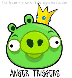 The Home Teacher: Don't Be An Angry Bird: Slingshot, Pigs, Blue Birds, Big Red Bird and Introducing Ice Bird