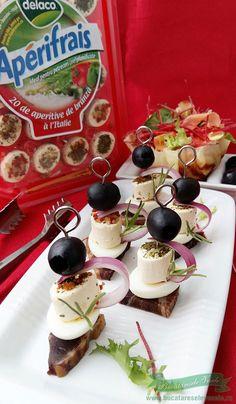 Mini Aperitive Rapide Finger Food Appetizers, Finger Foods, Appetizer Recipes, Food And Drink, Cheese, Beverages, Food, Finger Food