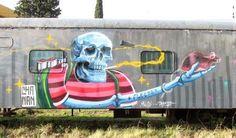 Exhib Graff Trains Junin 2015 street art buenos