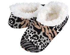 Snuggly Animal Stripes Snoozies  Small – fits sizes 5-6  Medium – fits sizes 7-8  Large – Fits sizes 9-10